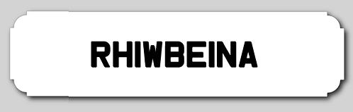 Rhiwbeina Street Sign
