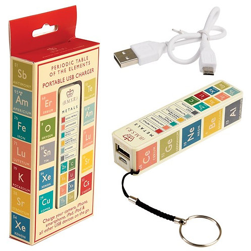 Periodic Table USB Charger