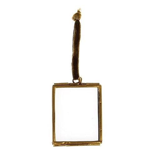 Hanging Brass Frame