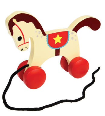 Charlie Circus Horse Wooden Toy
