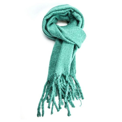 Scarf -Plain Green