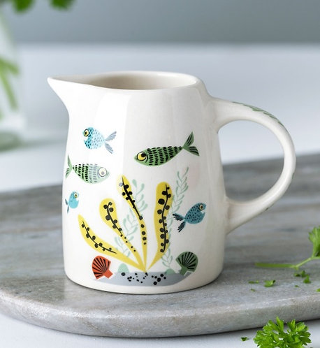 Handmade Ceramic Fish Small Jug