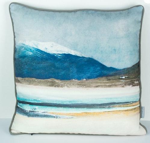 Cushion - Winter Luskentyre Isle of Harris
