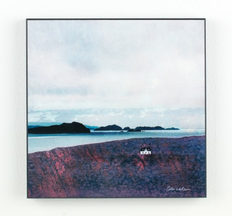 Wood Block - The Summer Isles from Achiltibuie