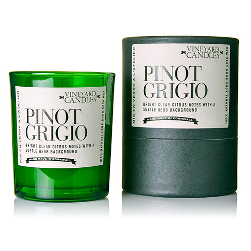 Pinot Grigio Shot Candle