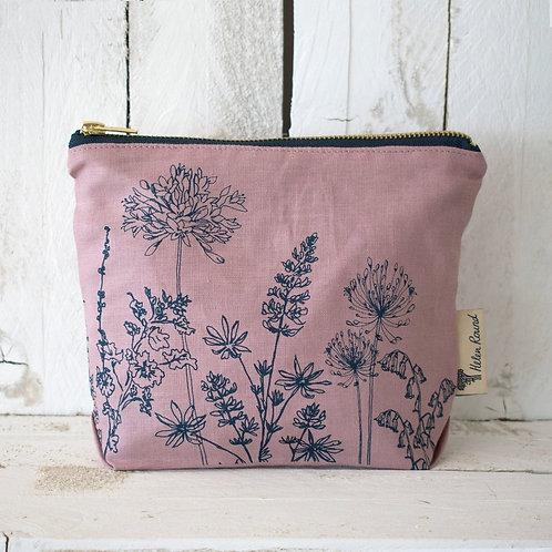 Linen Toiletry Bag Garden Design