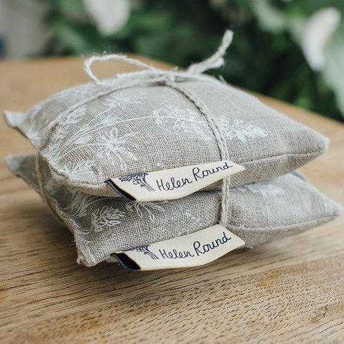 Lavender Bags in Pure Linen