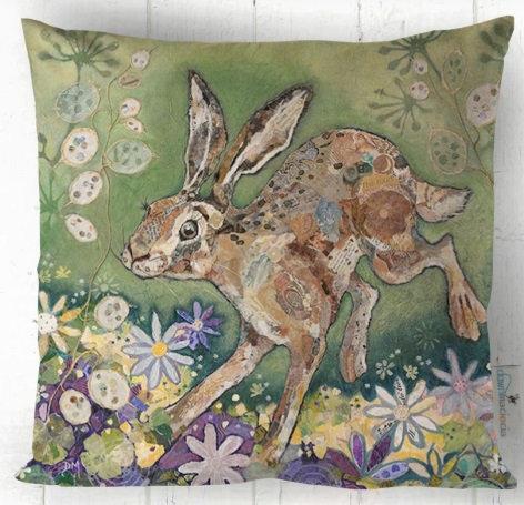 Cushion -Honesty Hare
