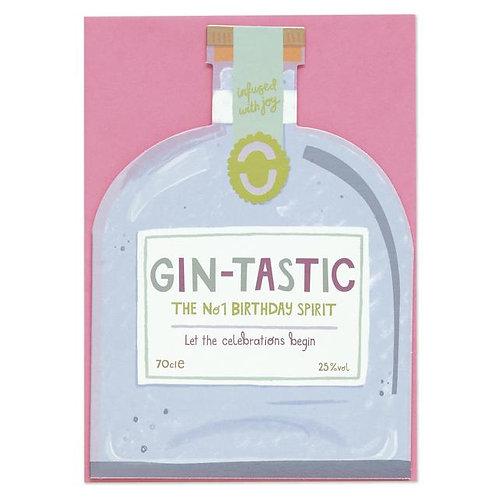 Happy Birthday Card - Gintastic