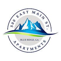 500 East Main St Apartments Logo Final w