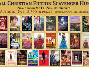 Christian Fiction Scavenger Hunt Stop #14