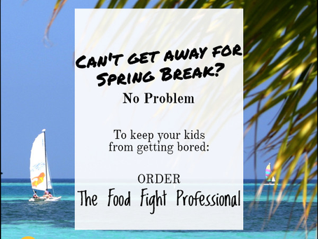Be a Spring Break Professional