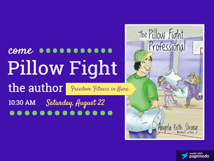 You're invited to a pillow fight!