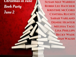 I'm Giving Away Books for Christmas in June
