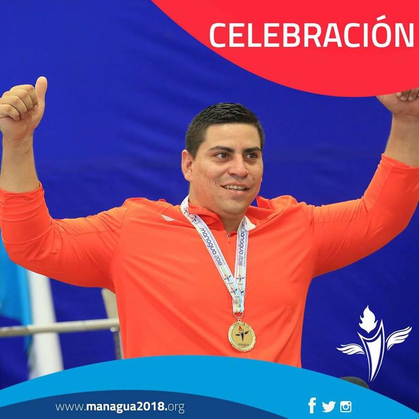 Sergio gana oro managua