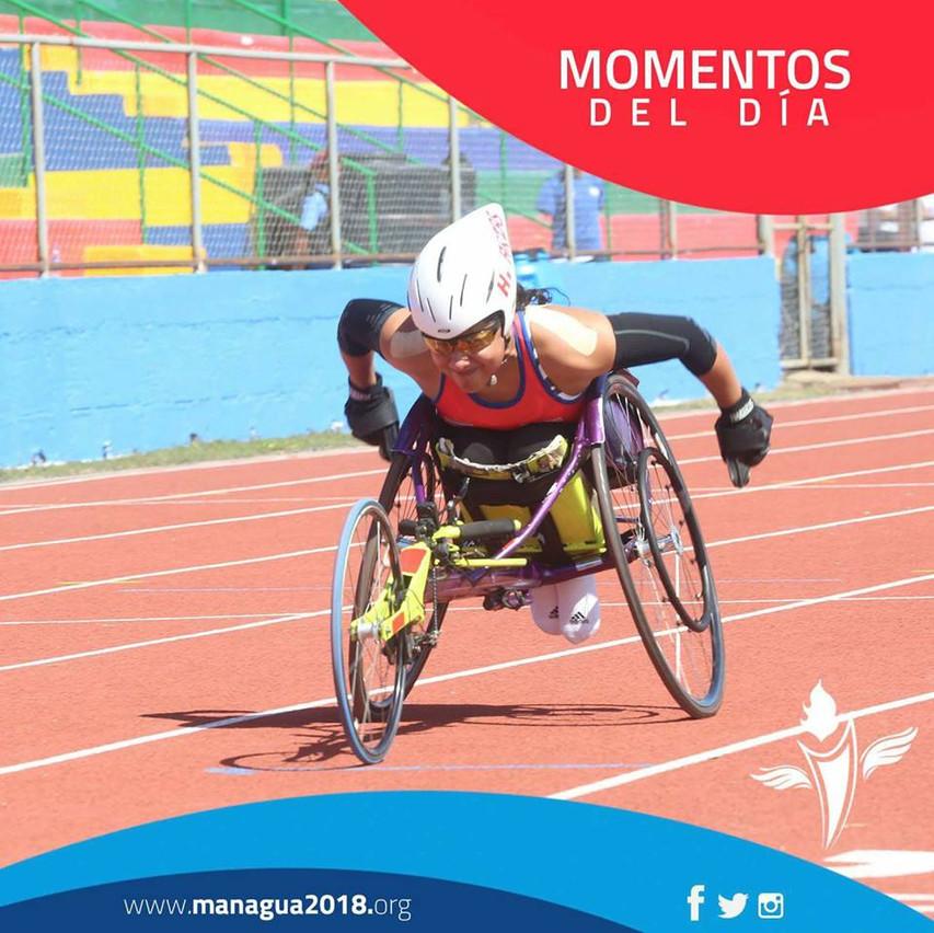 Heidy Arias atletismo