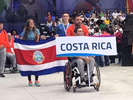 ¡Iniciaron los juegos Paracentroamericanos Managua!