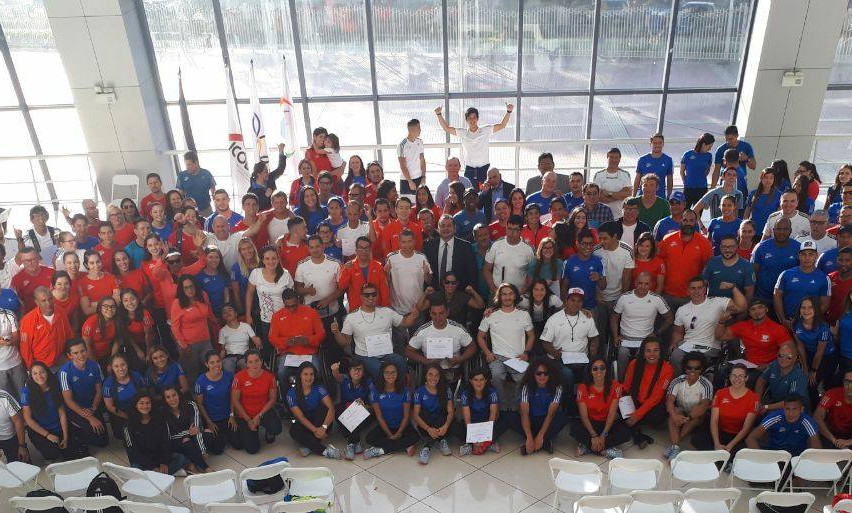 delegacion costa rica managua 2018