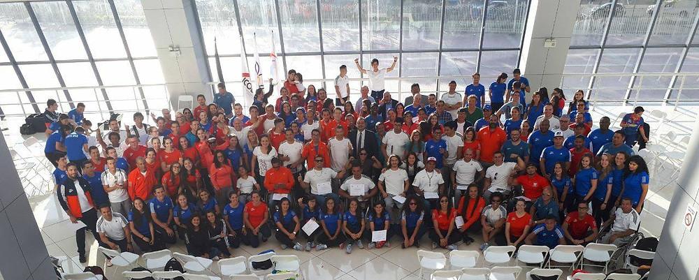 Delegación ParaCentroamericanos 2018