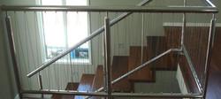 Solid Kwila Stair