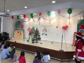Festejo navideño niños AETUTE
