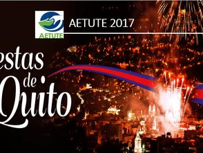 Festejo Fiestas de Quito - AETUTE 2017