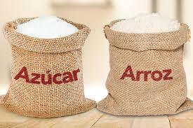 Entrega de arroz y azúcar 2020