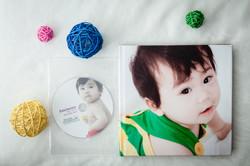 Photobook and DVD sample