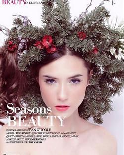 TBT _ellementsmagazine #winterfest #makeuplover #makeup #frekles #holidaymakeup #erickmakeup #erickg