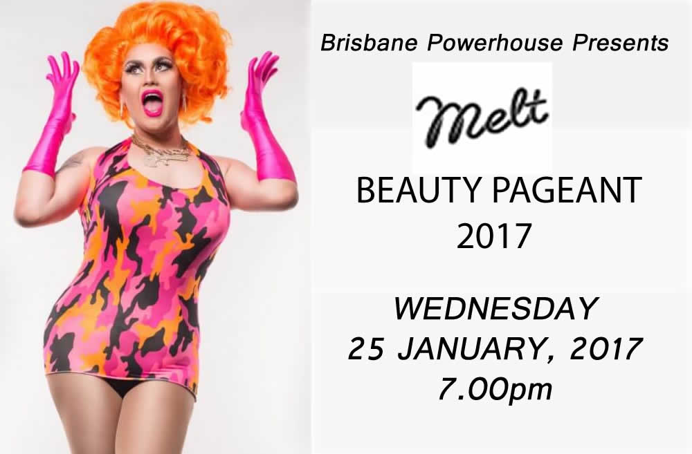 MELT beauty pageant website poster
