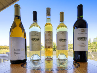 A Toast to the Williamsburg Winery for a Platinum & Four Golds at International Competition