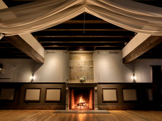 Classic Fireplaces Add to Wessex Hall's Warmth