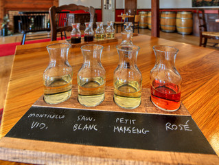 A New Way to Enjoy a Flight of Wine at the Williamsburg Winery