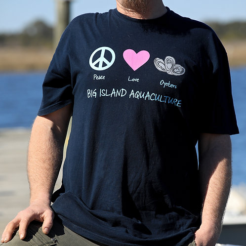 Big Island Aquaculture Shirt & Mug Combo