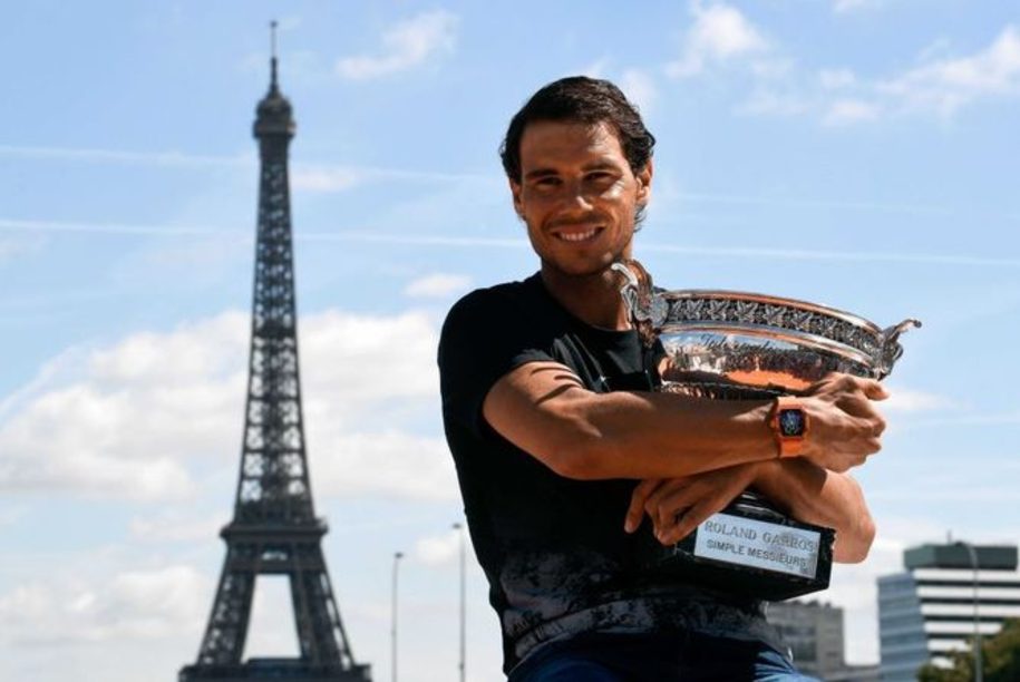 El español Rafael Nadal suma 15 títulos de la categoría Grand Slam.