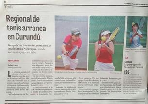 Regional de tenis arranca en Curundú - LA PRENSA