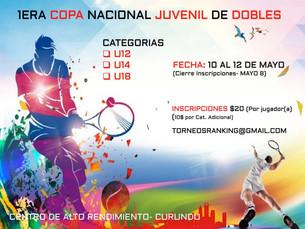 1era Copa Nacional Juvenil de Dobles