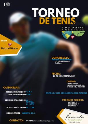 Torneo de Tenis - Circuito de las Américas