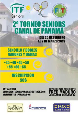 2do Torneo Seniors Canal de Panamá