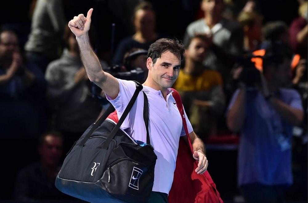 Roger Federer, número dos del mundo, se despide con la frente en alto.