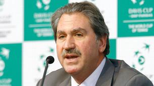 LLEGADA DE DAVID HAGGERTY (PRESIDENTE DE LA ITF)
