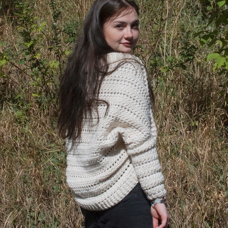 Highland Neamh Cocoon Cardigan by Sunflower Cottage Crochet