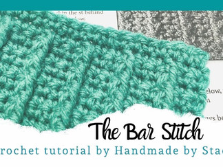 The Bar Stitch - Crochet
