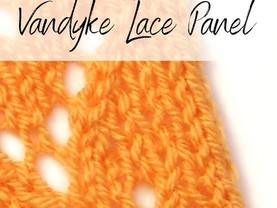 Knitting Tutorial Thursday - Vandyke Lace