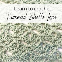 Diamond Shells Lace