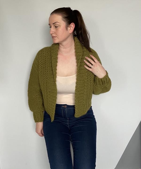 Crochet Bomber Jacket by Blue Star Crochet