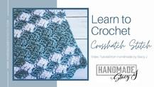 Crosshatch Crochet Stitch Tutorial