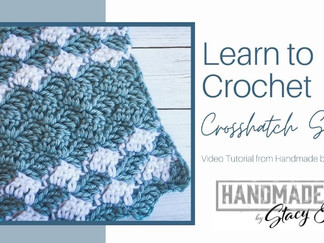 Crosshatch Crochet Stitch Tutorial