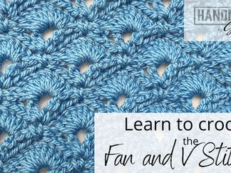 Fan and V Stitch - Learn to Crochet