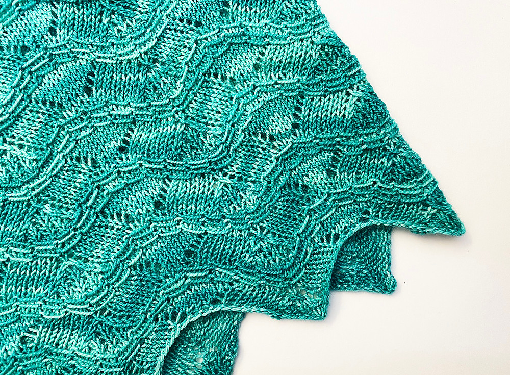 Light & Lacy Cascading Waves Cowlette designed by Handmade by Stacy J